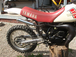 1981 yamaha yz 100/trade for street legal honda Prince George British Columbia image 9