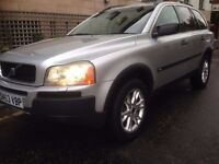 2004 VOLVO XC90 T6 2.9 TWIN TURBO AWD 4x4 AUTOMATIC 7 SEATER excellent condition PX