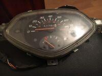 Used Honda Lead moped scooter speedo speed clock