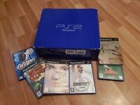 Sony PlayStation 2 Black Console and games