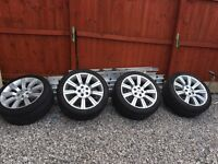 """Genuine 20"""" stormer alloys with 1 week old tyres"""