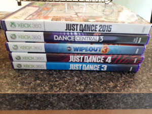 XBOX 360 Games. Good condition. Asking $5.00 ea/$20.00 lot.