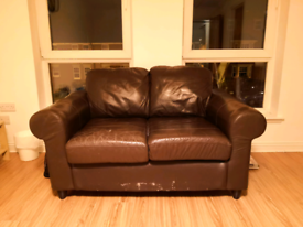 Used 2-seat leather sofa for sale