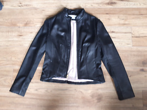 Women's leather jacket - x-small/small