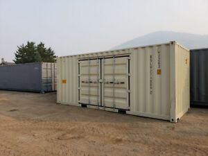 20ft Storage container with side doors