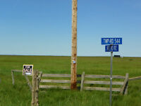 Build your Dream House on 75.37 Acres of land in Lamont County