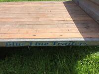 Twin axle trailer