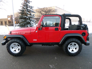Wanted 2003 Jeep TJ Rubicon or TJ Unlimited
