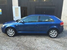 Audi A3 1.6 2004 Special Edition GREAT CONDITION LOW MILEAGE