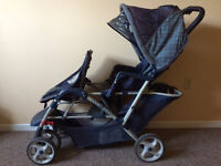 GRACO DUO GLIDER - double stroller in great condition