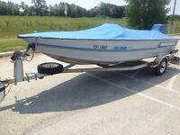 Princecraft 16' with 40hp evinrude great fishing boat $5650