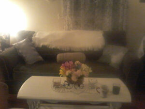 Beautiful couch,love seat and Ottman almost 2 yrs old, $425 OBO