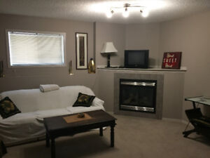 Silverberry furnished lower level suite- all utilities included