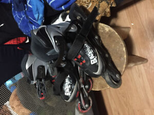 Size 11 toddlers/kids rollerblades