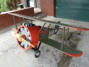 custom hand built model aircraft