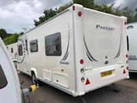 2009 Bailey Pageant Burgundy 4 Berth caravan FIXED BED, Great Layout Awning !
