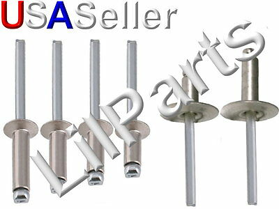 Stainless Steel Blind Pop Rivets 316 All Sizes Large And Small Flange Ss