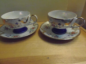 Bone China Tea Cups & Saucers, Exquisite! Lovely! Collectible! London Ontario image 10