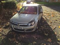 2007 astra 1.6 sxi spares or repair bargain non runner 86k miles
