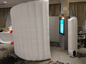 """Inflatable 32"""" Touchscreen Photo booth for sale (photo booth)"""