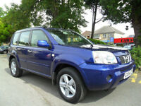 NISSAN X TRAIL 2.2 DCi SVE 2004 FSH 12 STAMPS HPI CLEAR COMPLETE WITH M.O.T