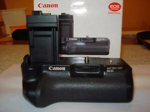 grip batteries canon BG-E5 original neuf jamais utilisée