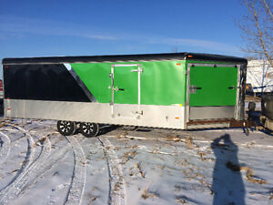 REDUCED$$$$$!!!!!! 2012 united expressway 4/5 place sled trailer