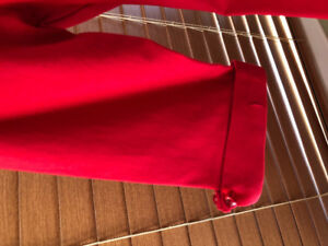1950s Red Delores Swing Dress with Sleeves