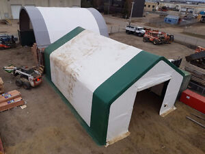 PREMIUM Double Truss 30 wide Cold Storage Building Hay Shelter