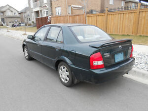 1999 Mazda Protege Sedan CERTIFIED AND ETESTED