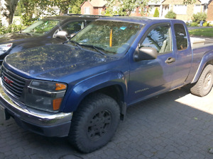 2005 GMC Canyon Ext Cab 4x4 AS IS