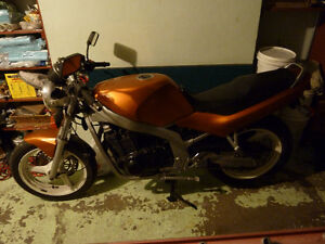 1989 Suzuki GS500 as is, fixer upper