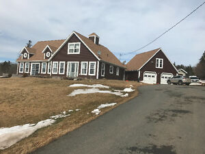 Beautiful large chalet style with large 2 car garage and pool