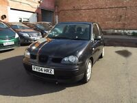 SEAT AROSA 1.0 S 3 DOOR BLACK