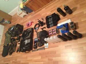 Full Paintball Gear, Paintball Marker and Accessories!