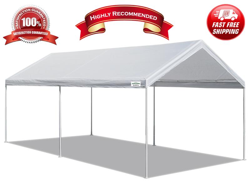 10' X 20' Portable Heavy Duty Canopy Garage Tent Carport Car