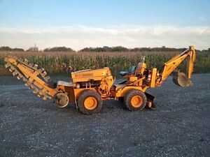 Case Davis 30+4 Trencher Backhoe