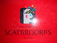 Scattergories and Guess Where