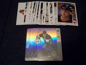 First ever McDonalds hockey card set -1991