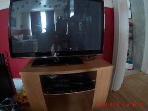 tv plasma lg avec bluray et meuble