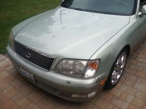 1999 LEXUS LS 400-$5000 OR BEST OFFER