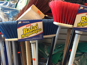 Magnetic Broom