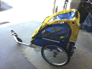 double bike trailer stroller for sale