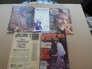 Country Music/Song Magazines & Books