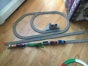 Battery Powered Thomas and Friends trains with track