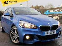 2015 BMW 2 SERIES 220D XDRIVE M SPORT ACTIVE TOURER AUTOMATIC 4X4 HATCHBACK DIES