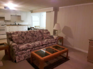 Looking for a quiet student to rent in-law suite May1-Aug31/18