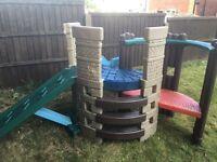 Little tikes climbing frame & slide