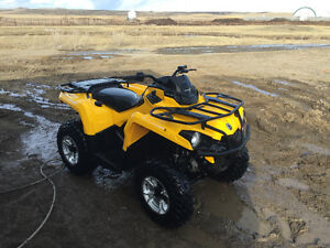 2016 can am outlander 450l only 1200kms