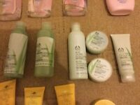 Body Shop Champneys Garnier Tresemme Dove 20 various items see pictures £10 for all items